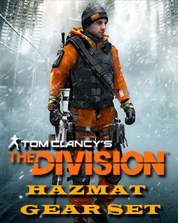 Tom Clancys The Division Hazmat gear set krabice