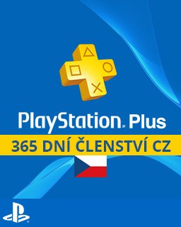 PlayStation Plus 365 dní krabice