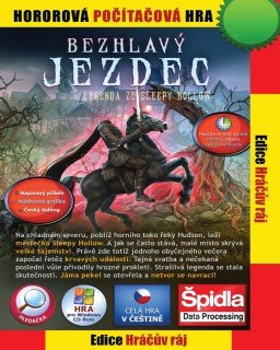 Bezhlavý jezdec Legenda ze Sleepy Hollow krabice