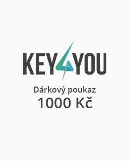 Dárkový poukaz v hodnotě 1000,- CZK