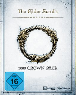 Elder Scrolls Online Tamriel Unlimited  3000 Crown Pack krabice