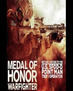 Medal of Honor Warfighter SFOD-D Point Man DLC