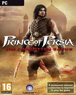 Prince of Persia The Forgotten Sands krabice