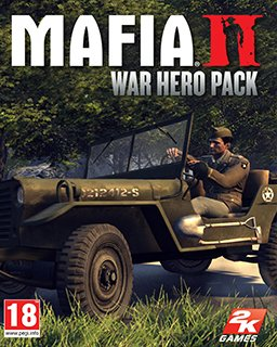 Mafia 2 DLC Pack War Hero krabice