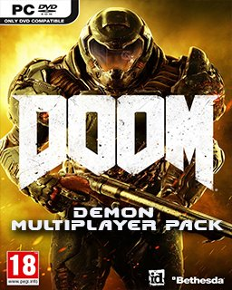 Doom 4 Demon Multiplayer Pack krabice