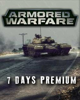 Armored Warfare 7 Days premium krabice