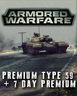 Armored Warfare Premium Type 59 + 7 day Premium krabice