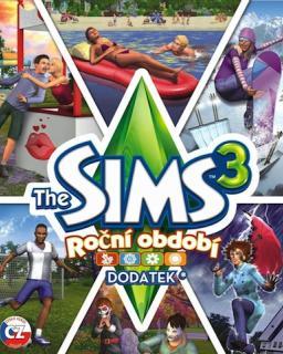 The Sims 3 Roční Období krabice