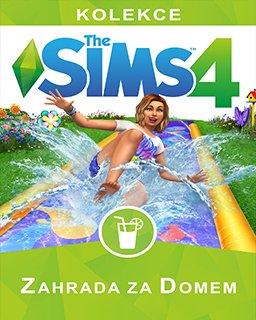The Sims 4 Zahrada za domem krabice