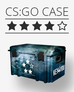 Counter Strike Global Offensive Náhodný skin **** krabice