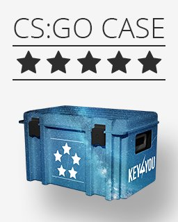 Counter Strike Global Offensive Náhodný skin ***** krabice