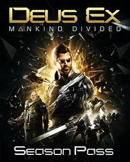 Deus Ex Mankind Divided Season Pass krabice