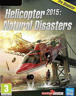 Helicopter 2015 Natural Disasters krabice
