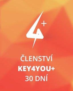 Key4You+ Členství (30 dní)