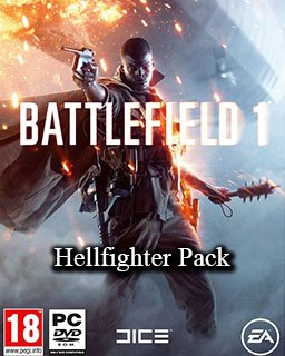 Battlefield 1 Hellfighter Pack DLC krabice