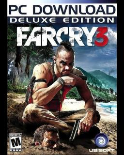 Far Cry 3 Deluxe Edition krabice