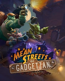 15x Hearthstone Mean Streets of Gadgetzan krabice