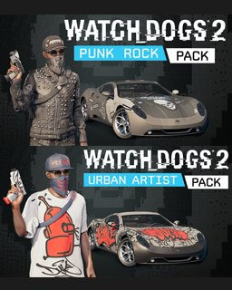 Watch Dogs 2 Punk Rock and Urban Artist krabice