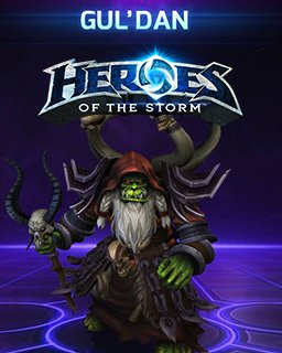 Guldan Heroes of the Storm krabice