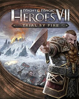 Might and Magic Heroes VII Trial by Fire krabice
