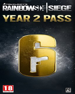 Tom Clancys Rainbow Six Siege Season Pass Year 2 krabice