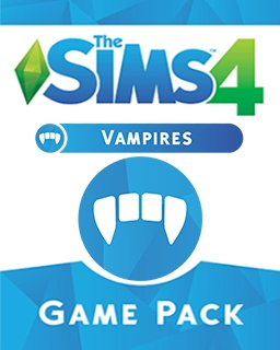 The Sims 4 Upíři krabice