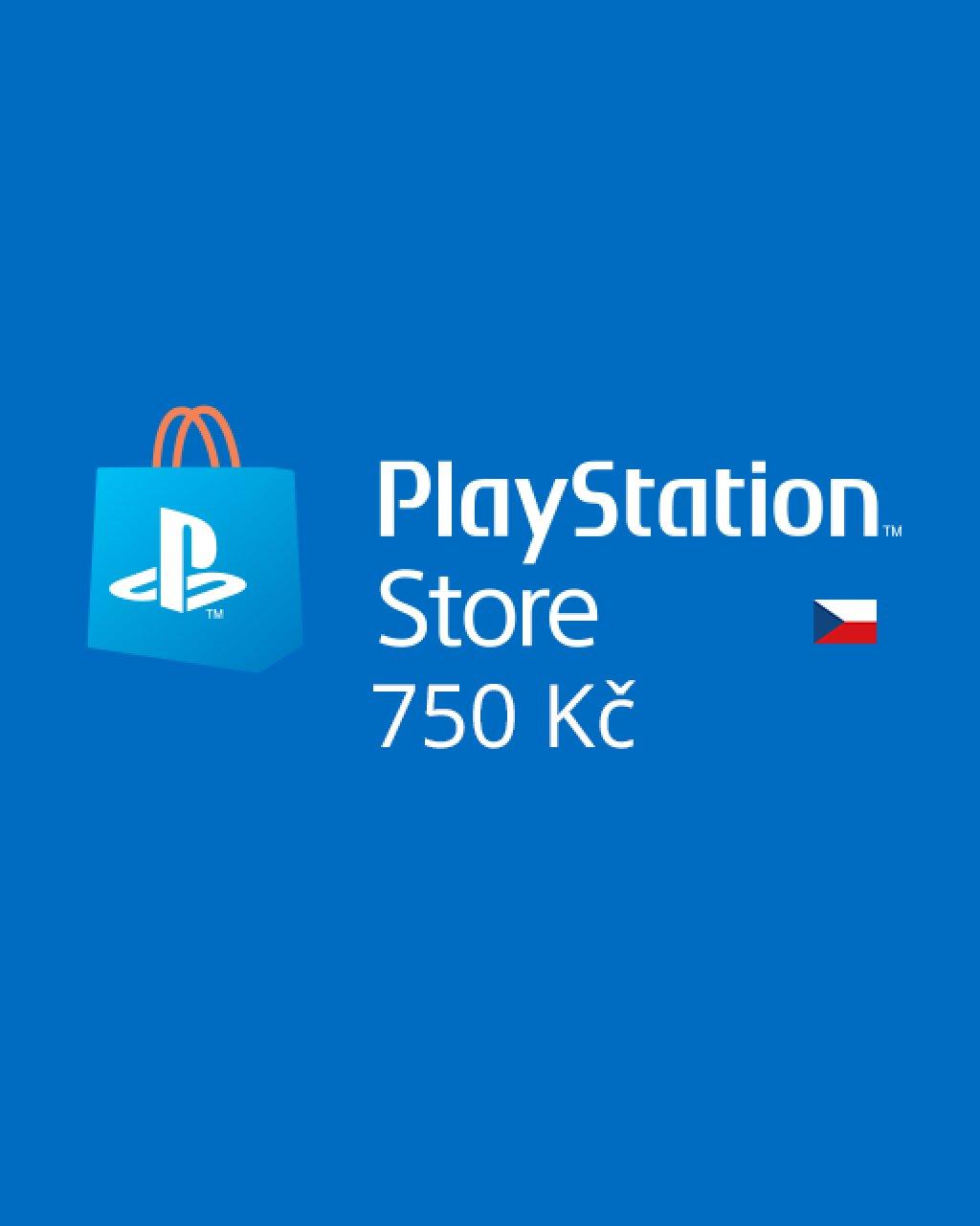 PlayStation Live Cards 750Kč