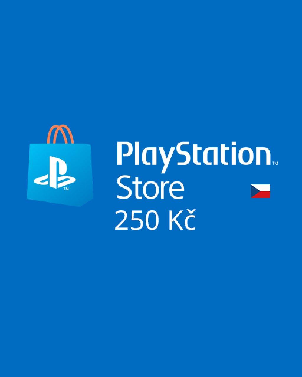 PlayStation Live Cards 250Kč krabice