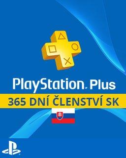 PlayStation Plus 365 dní SK PC – digitální verze
