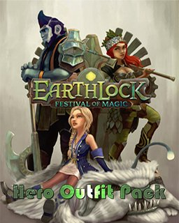 EARTHLOCK Festival of Magic Hero Outfit Pack krabice