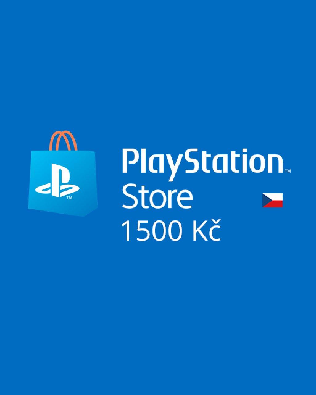 PlayStation Live Cards 1500Kč krabice