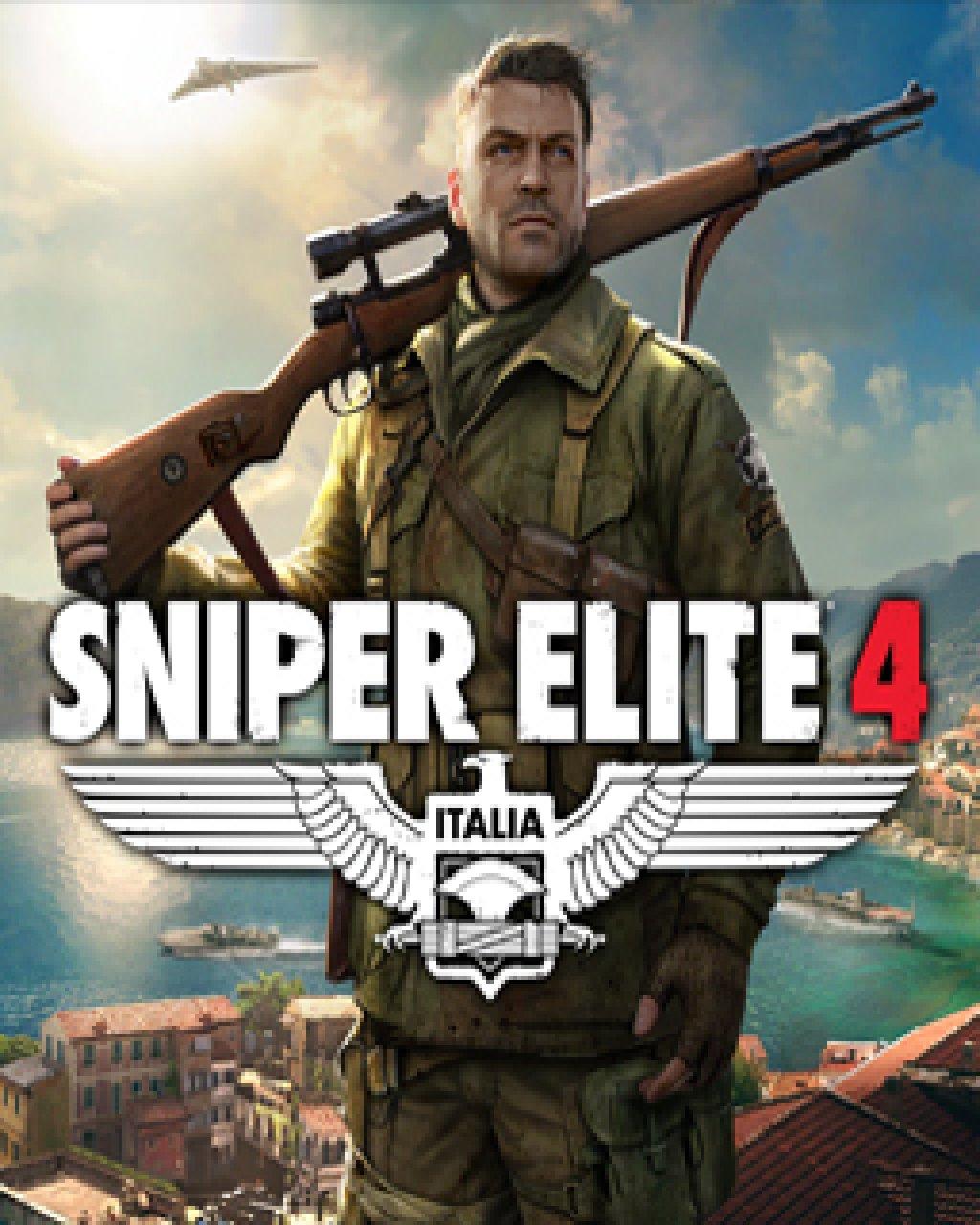 Sniper Elite 4 krabice