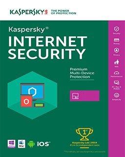 Kaspersky Internet Security 2017, 1 lic. 1 rok krabice