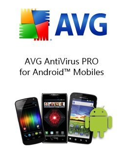 AVG AntiVirus PRO for Android 1 lic. 1 rok