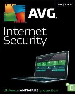 AVG Internet Security 2017 1 lic. 1 rok