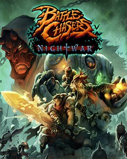 Battle Chasers Nightwar krabice