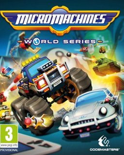 Micro Machines World Series krabice