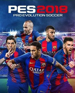Pro Evolution Soccer 2018 krabice