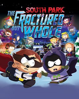 South Park The Fractured But Whole krabice