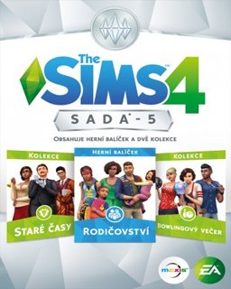 The Sims 4 Bundle Pack 5 krabice