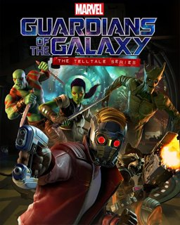 Marvel's Guardians of the Galaxy The Telltale Series krabice