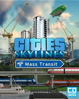 Cities Skylines Mass Transit krabice