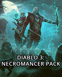 Diablo 3 Rise of the Necromancer Pack krabice