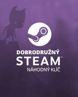 Dobrodružný náhodný steam klíč krabice