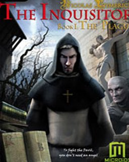 Nicolas Eymerich The Inquisitor  Book 1 The Plague krabice