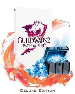 Guild Wars 2 Path of Fire Deluxe Edition krabice