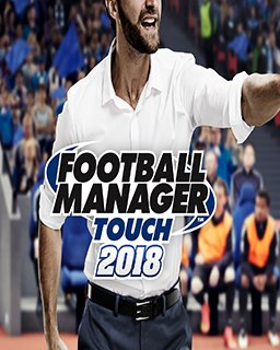 Football Manager Touch 2018 krabice