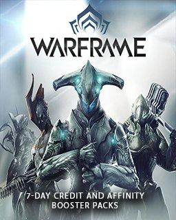 Warframe 7 Denní Credit a Affinity Booster Pack PC – digitální verze