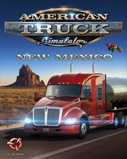 American Truck Simulator New Mexico krabice