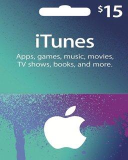 iTunes 15 USD krabice